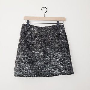 Anthropologie HUTCH Metallic Skirt NWT Size SP